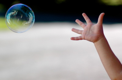 If only bubble tests were this harmless.